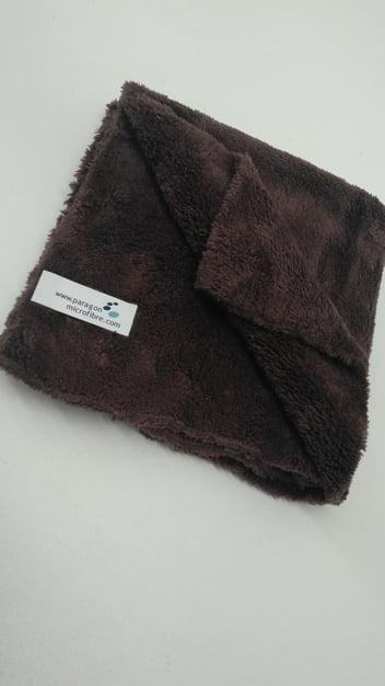Microfibre Edgeless Brown Towel